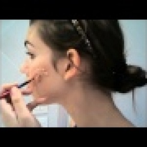 Video maquillage rapide pour halloween la cicatrice - Maquillage cicatrice halloween ...