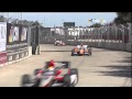 Gros crash de Dario Franchitti en Indycar à Houston