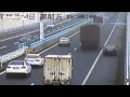 Accident d'un camion en Chine après d'interminables zigzag !