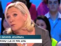 "Marine Le Pen tacle l'émission ""Le grand journal"", enfin presque !"