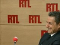 Sarkozy se marre pendant l'imitation de Laurent Gerra