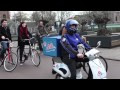 Le scooter électrique parlant par Domino's Pizza