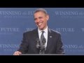 Barack Obama chante Sexy and I Know It de LMFAO