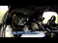 ERC : Crash de Jérémi Ancian au Tour de Corse 2013