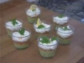 Verrines saumon avocat fromage