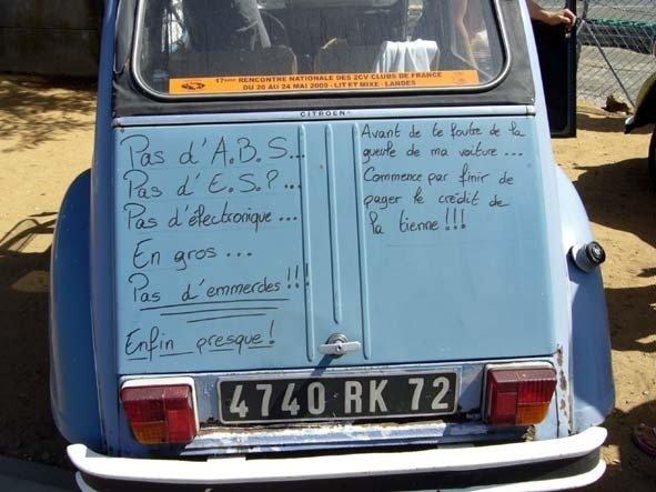 ne jamais se moquer d u0026 39 une vieille voiture