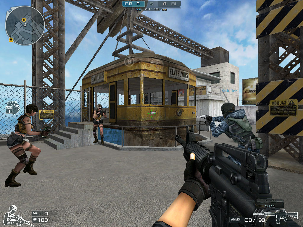 screenshot du jeu Cross Fire
