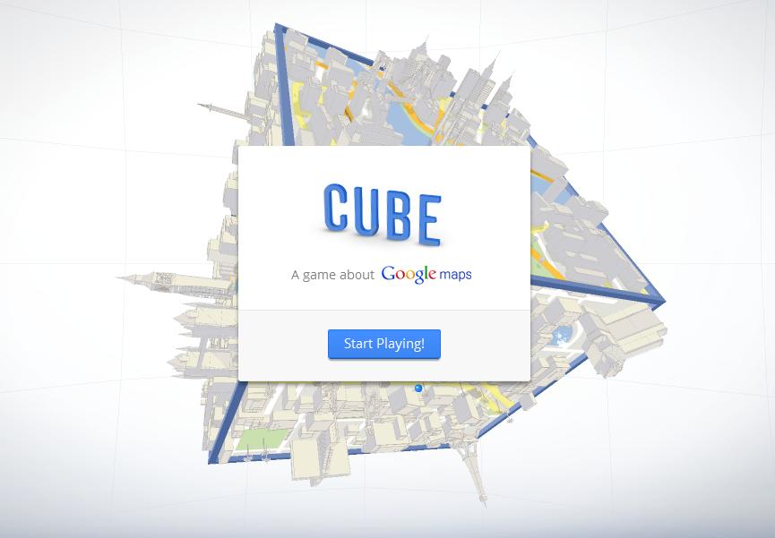 cube le nouveau jeu gratuit de google. Black Bedroom Furniture Sets. Home Design Ideas