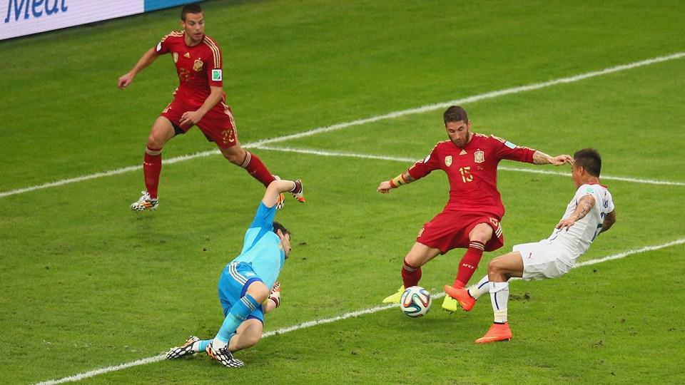 L 39 espagne limin e de la coupe du monde 2014 le chili qualifi - Coupe du monde espagne 2014 ...