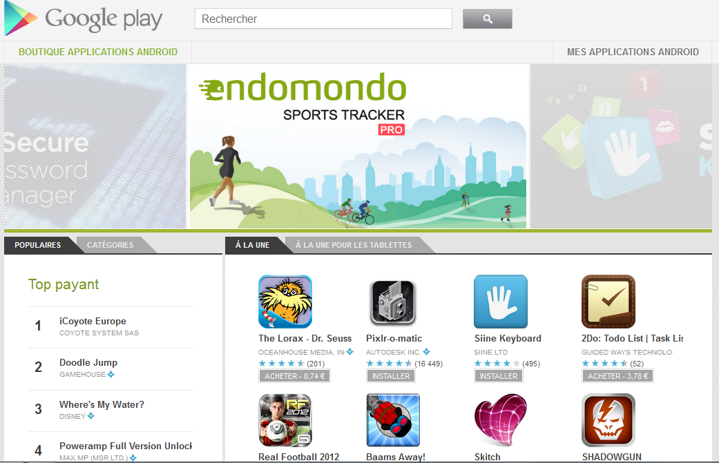 screen Google play